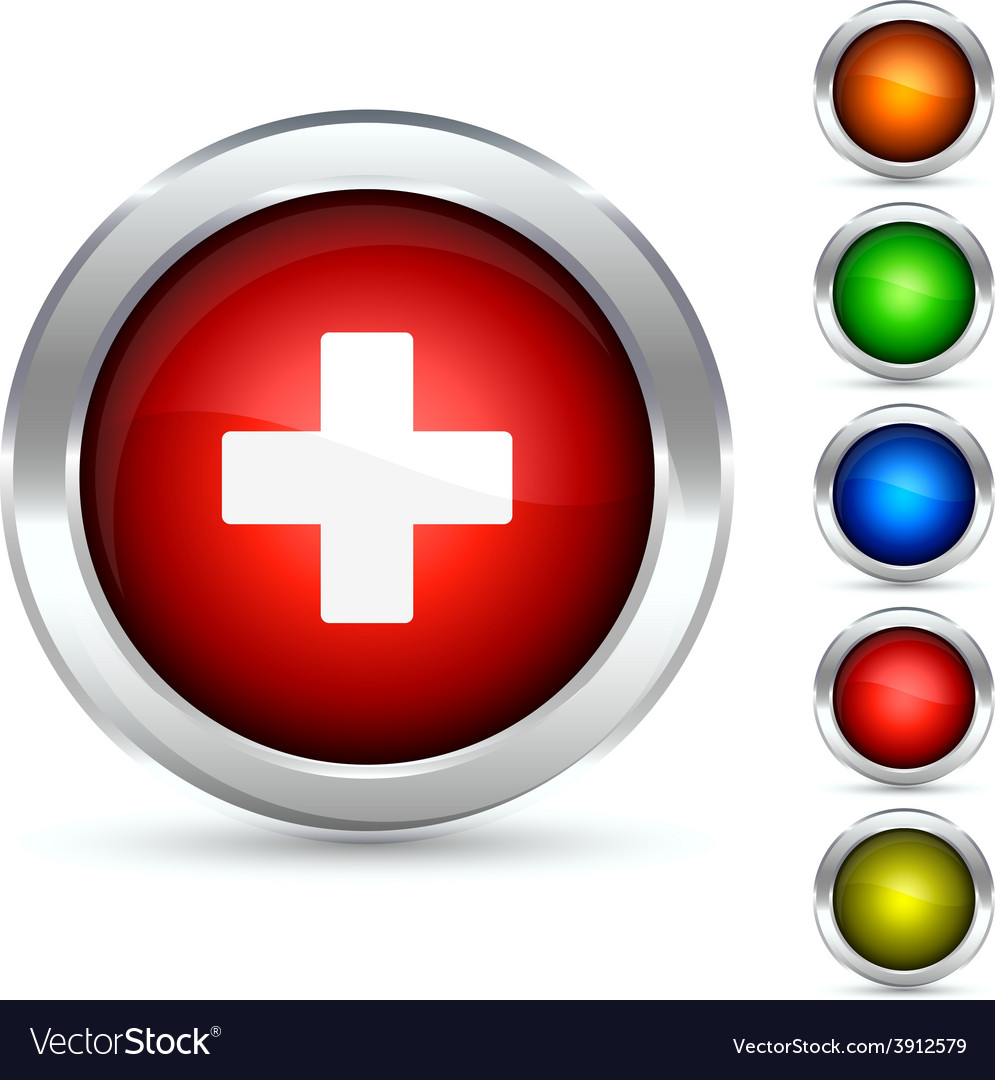 Switzerland flag bitton vector image