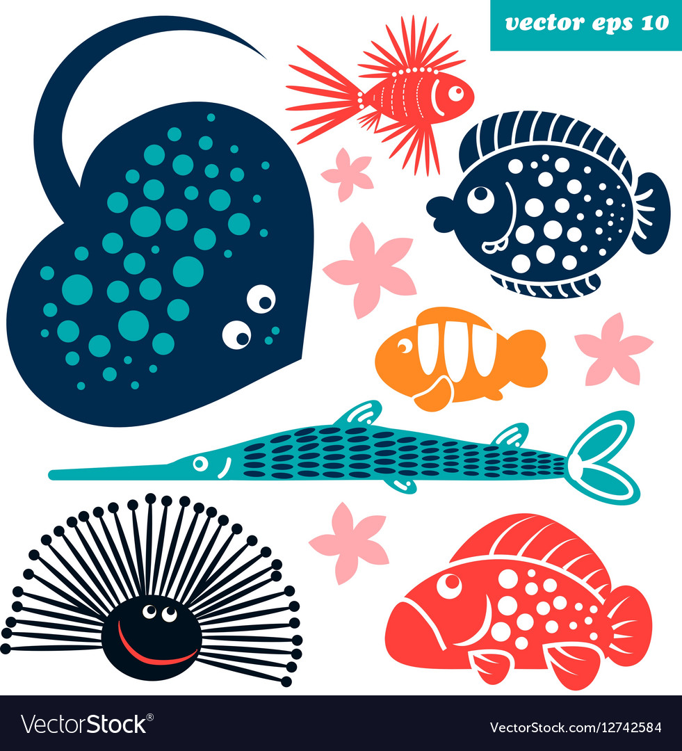 Sea creatures for children