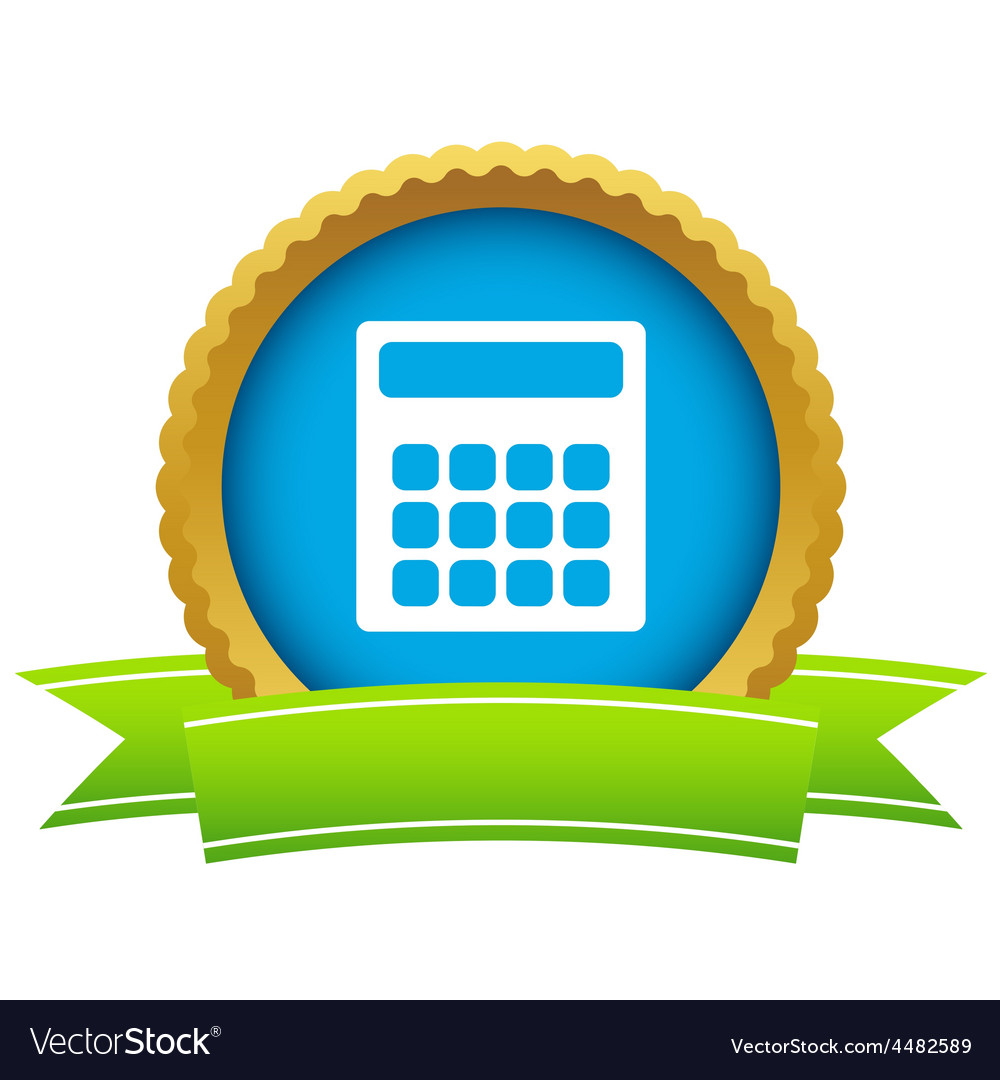 Gold calculator logo