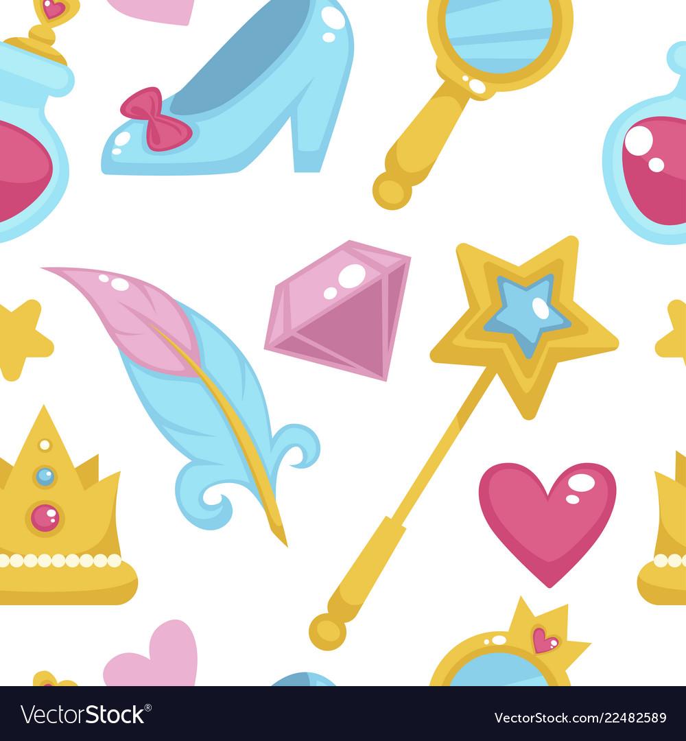 Princess with fairy elements unicorn and magic