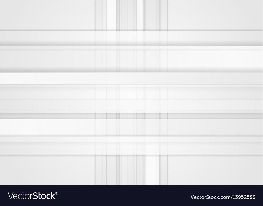 White geometric technology stripes background