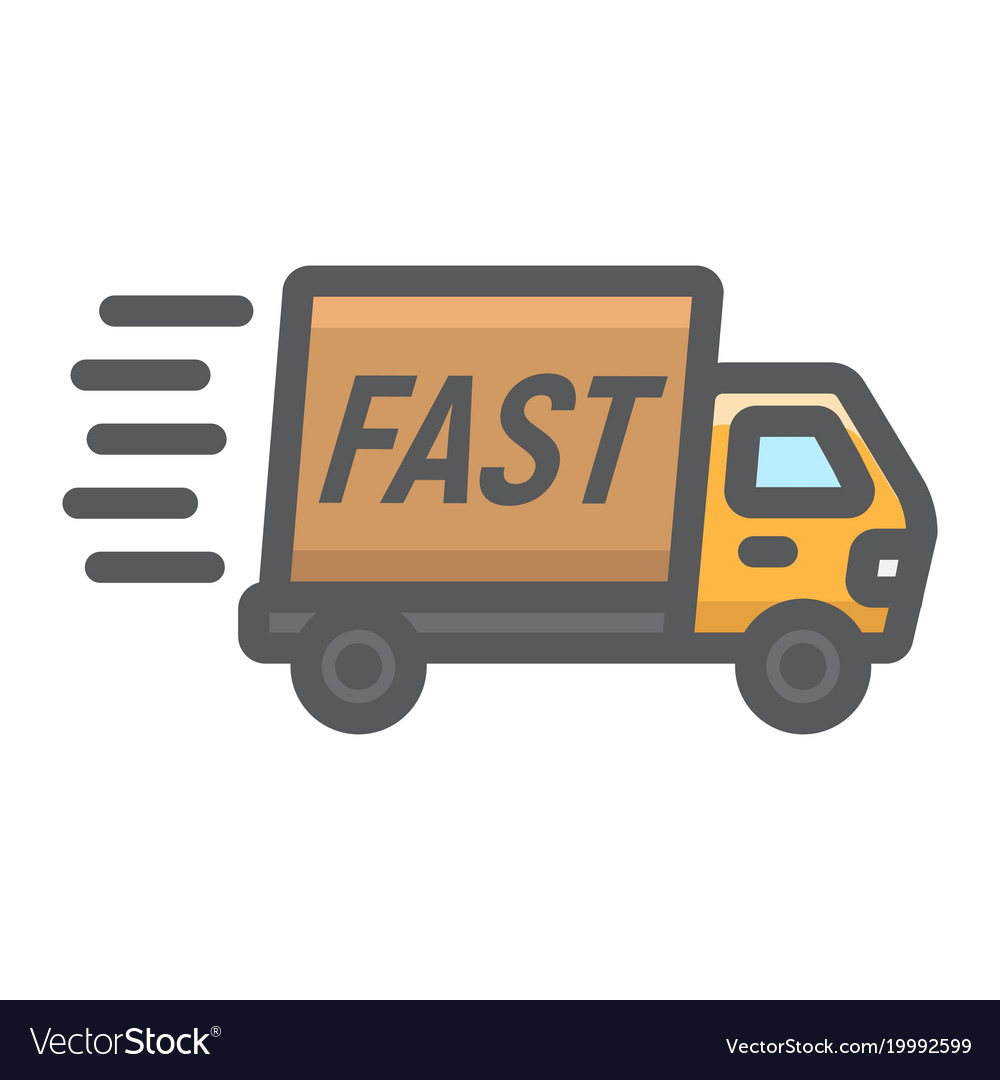 Shipping Delivery: Fast Delivery Truck