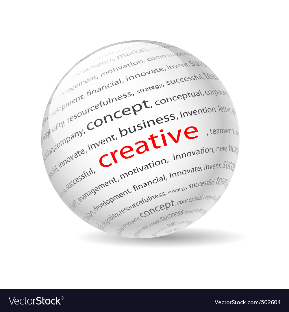 Creative vector image