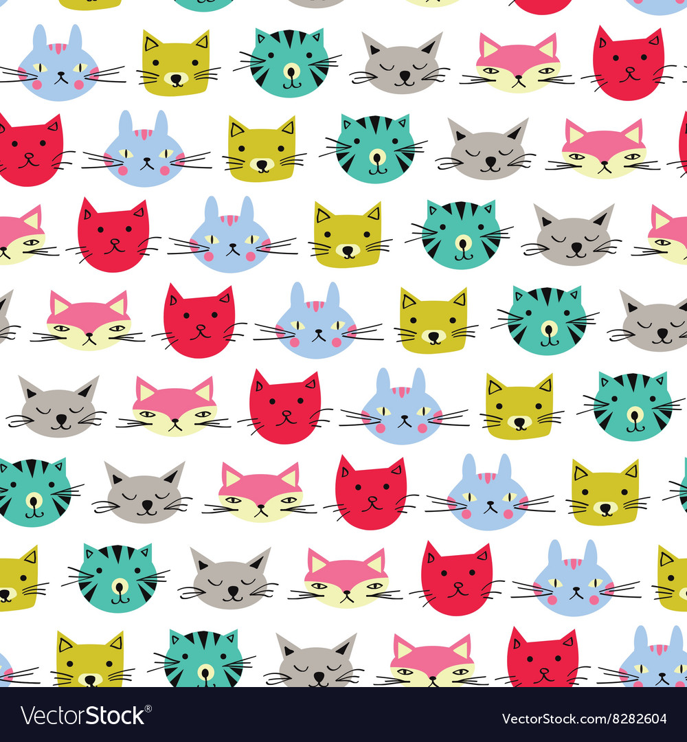 Cute cats background