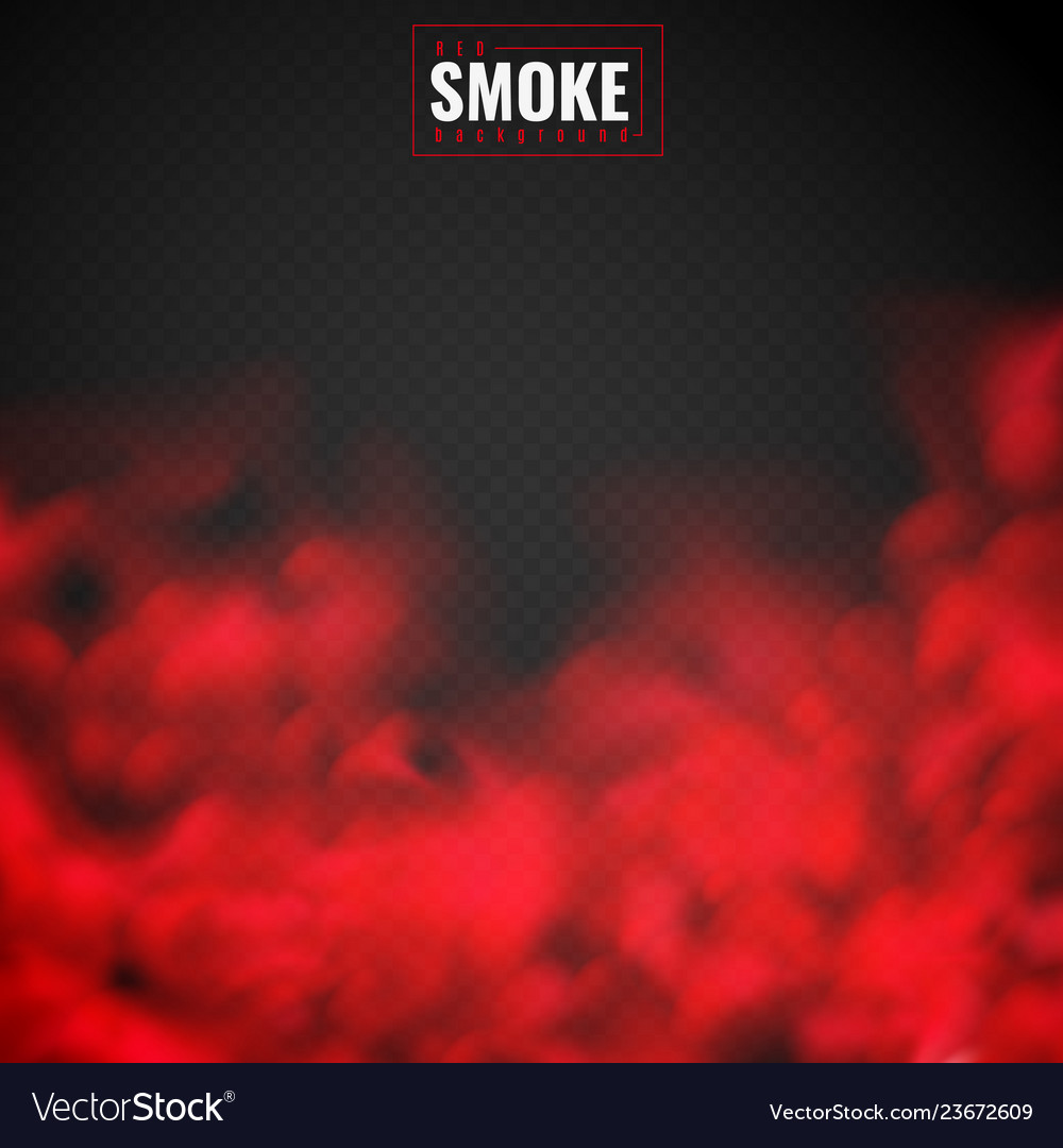 Red smoke mist red powder clouds smoking spooky