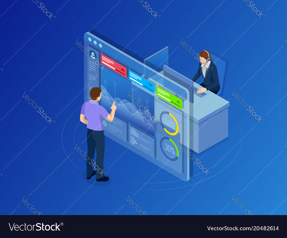 Isometric concept of data network management