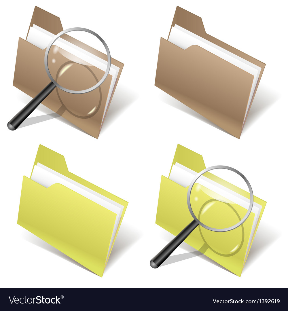 Folder and magnifier