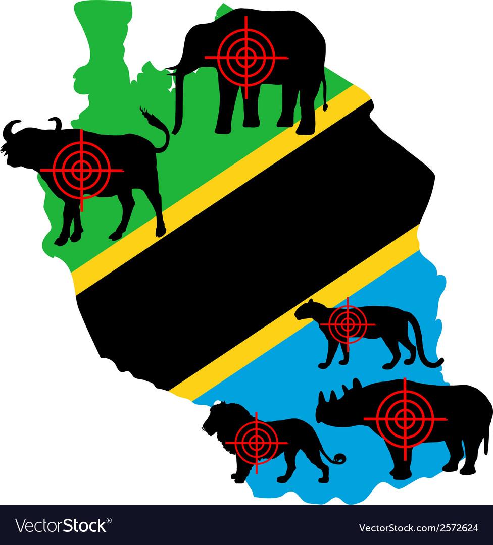 Big Five Tanzania cross lines