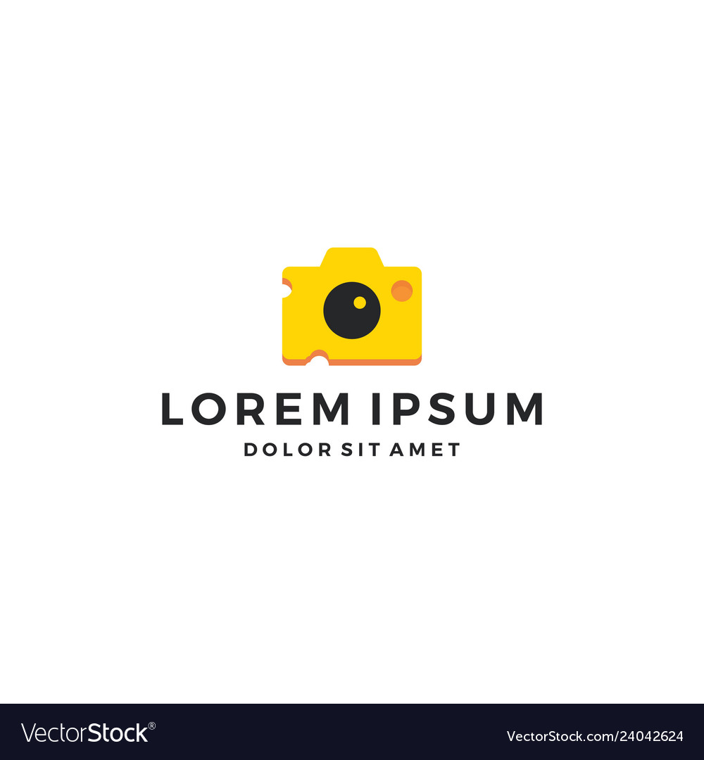 Cheese food photography photographer camera logo