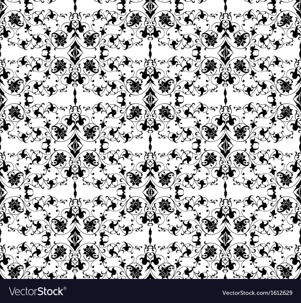 Seamless ornamental background