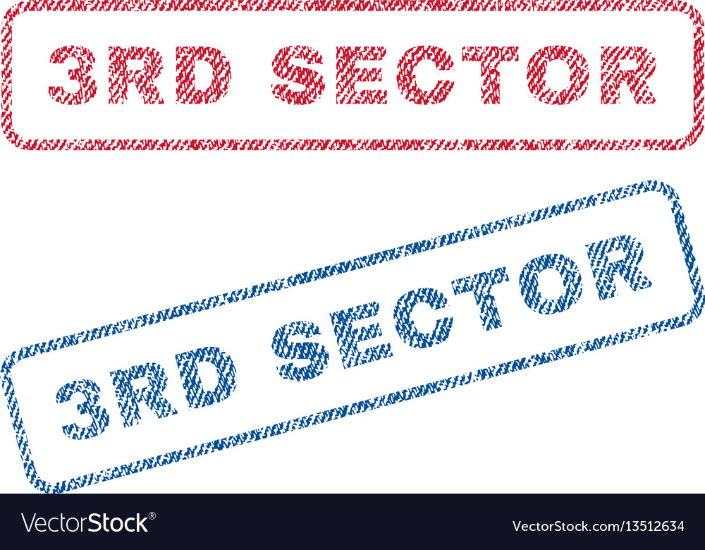 3rd sector textile stamps