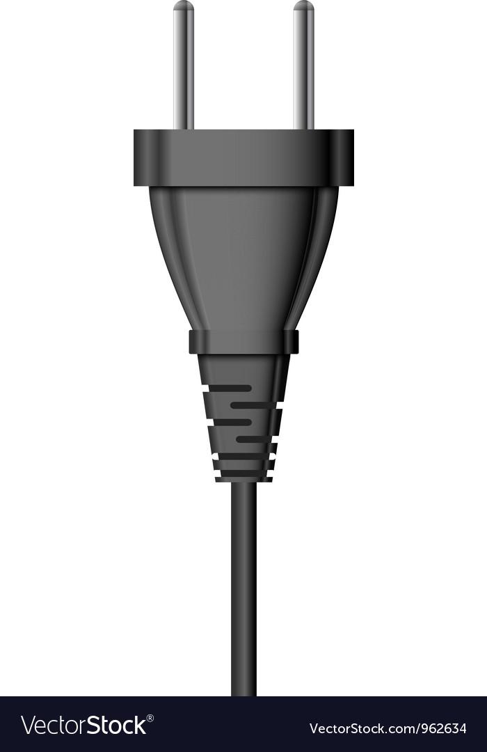Electric Plug Vector Image