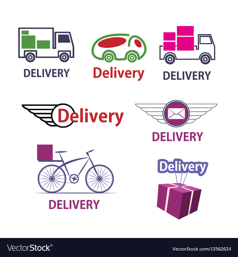 Set delivery icons