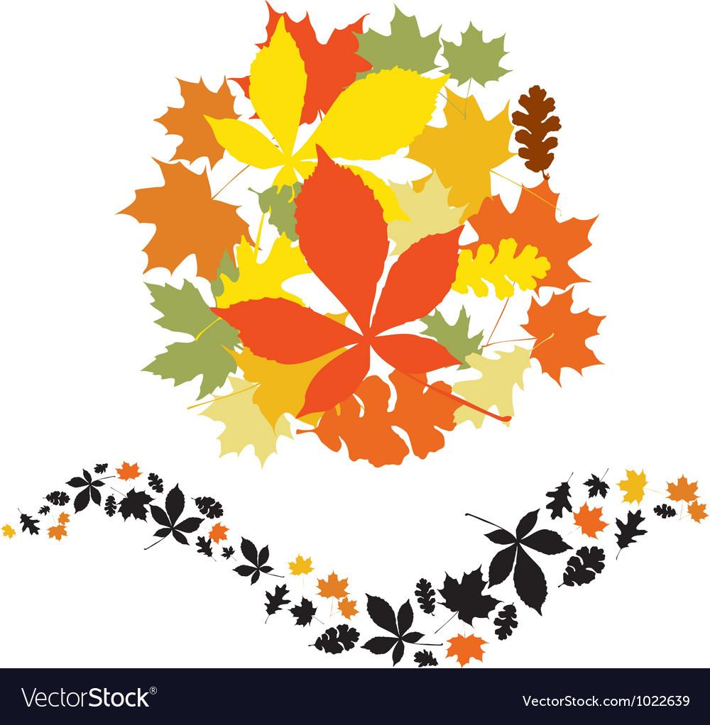 Autumn decor elements
