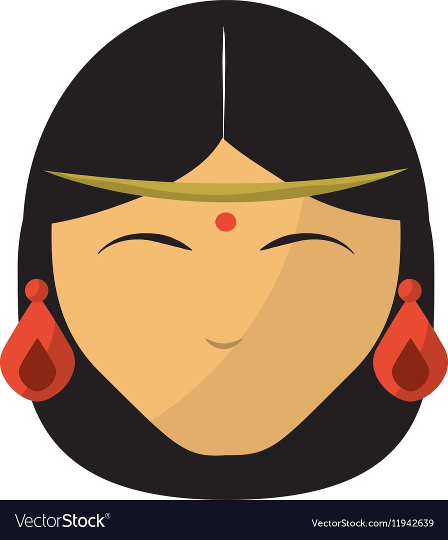 Indian women face