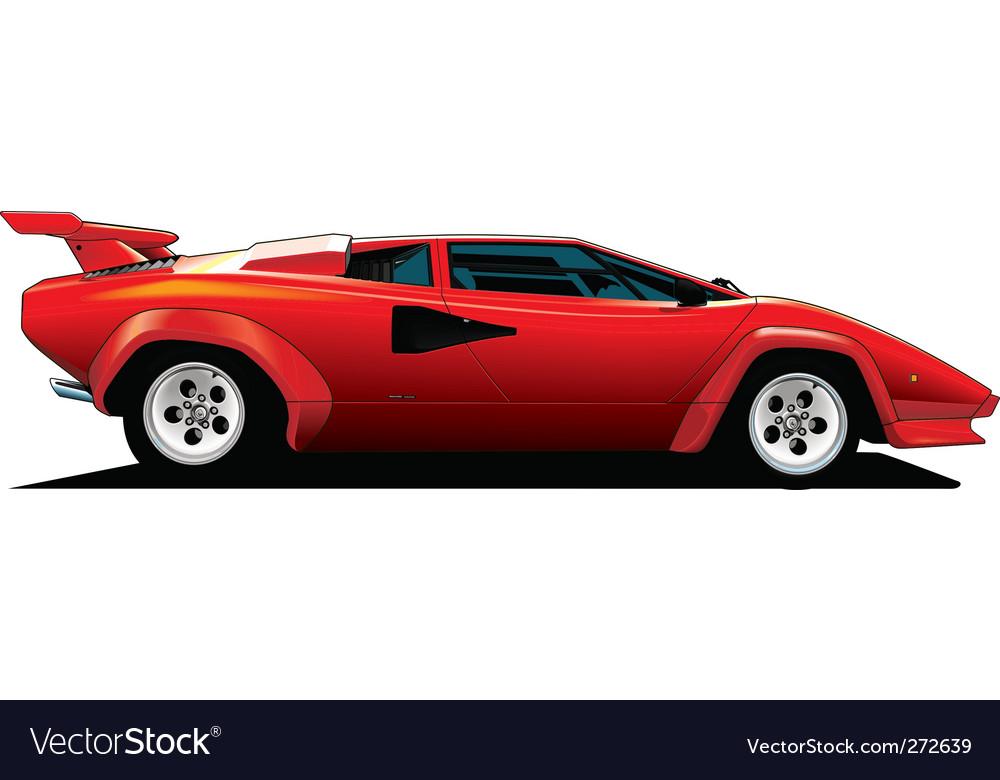 Lamborghini Royalty Free Vector Image Vectorstock