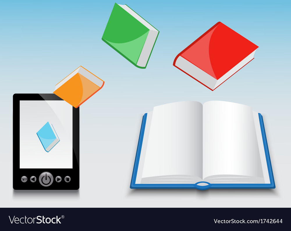 E-book and its contents