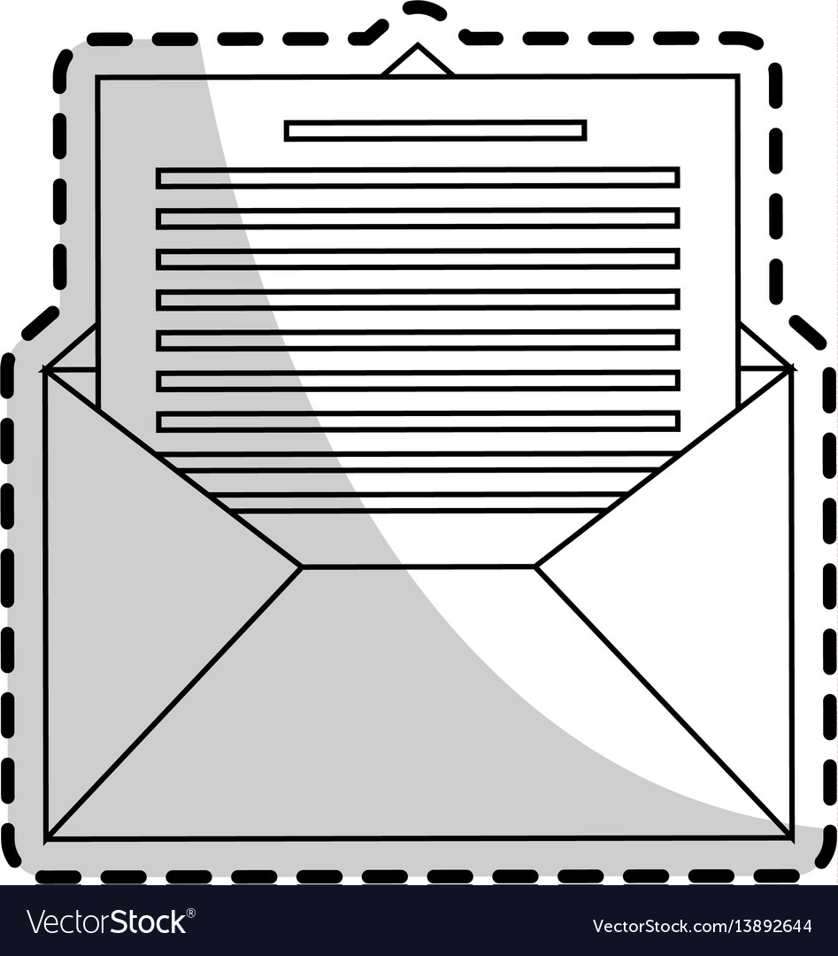 Message envelope icon image
