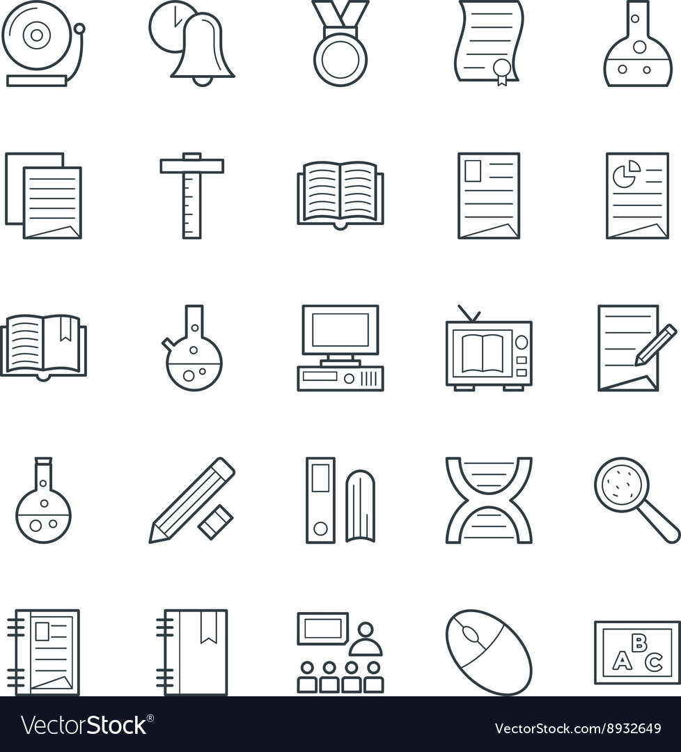 Education Cool Icons 5