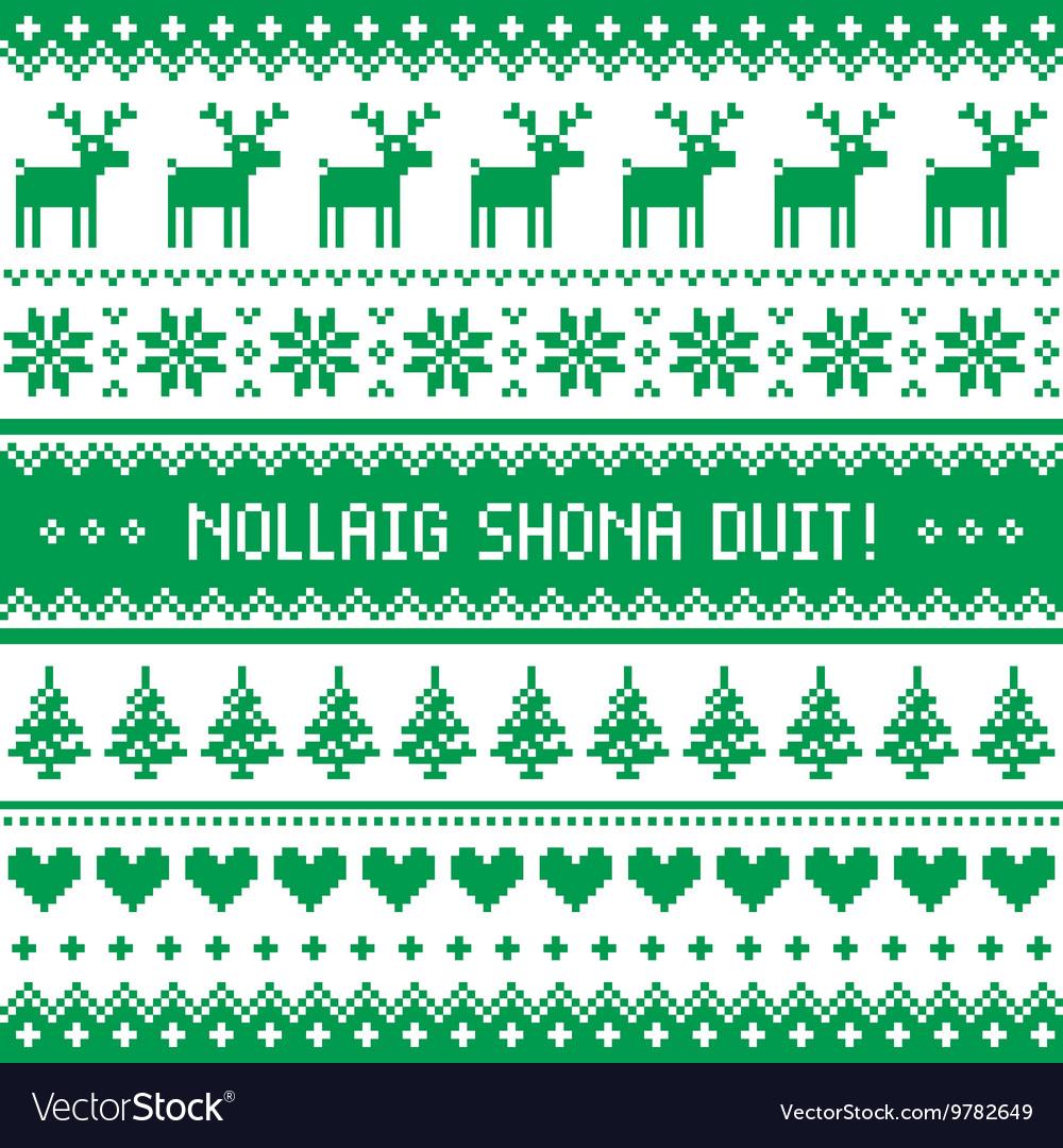 Merry Christmas In Irish.Nollaig Shona Duit Merry Christmas In Irish