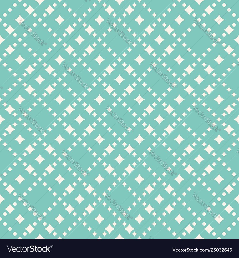 Seamless pattern with diamond shapes stars
