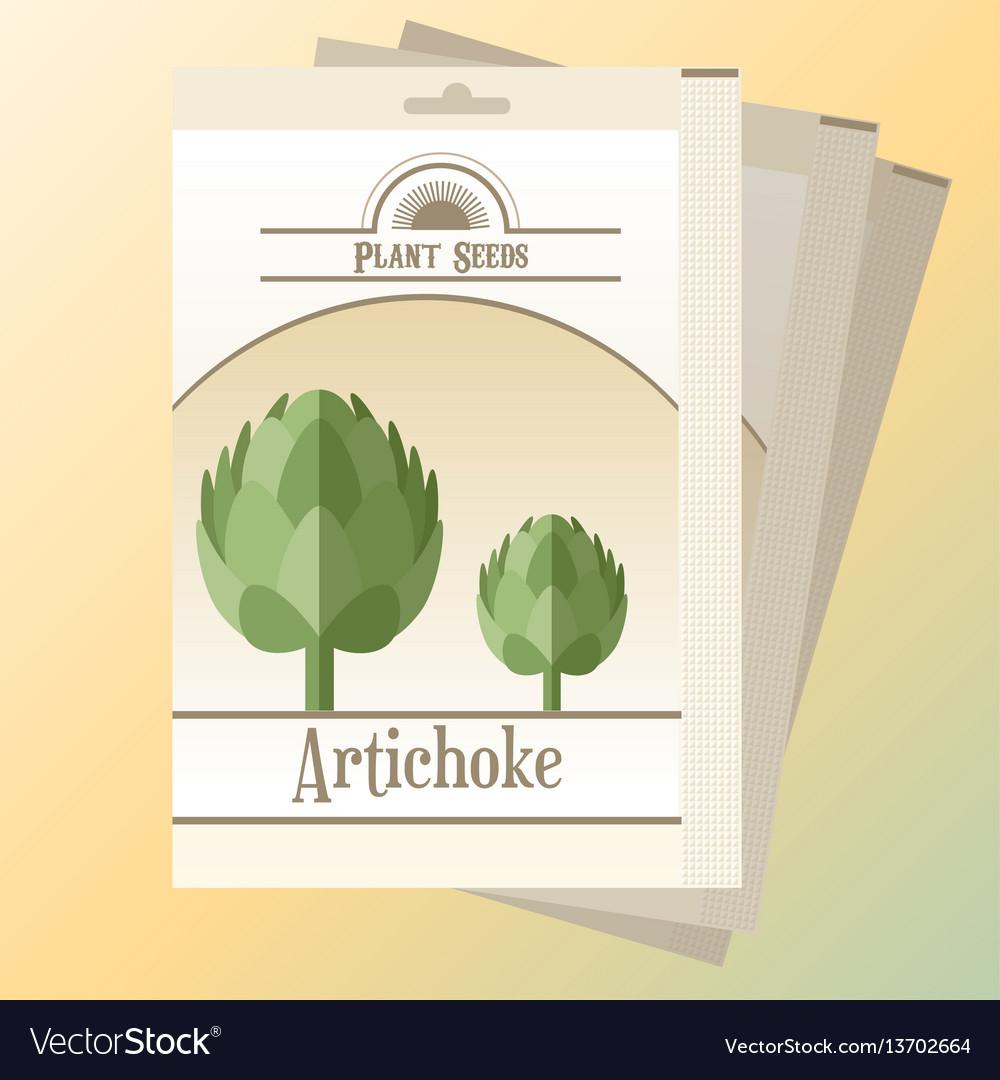Artichoke seed pack