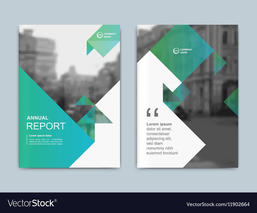 Cover Design Annnual Report Flyer Presentation