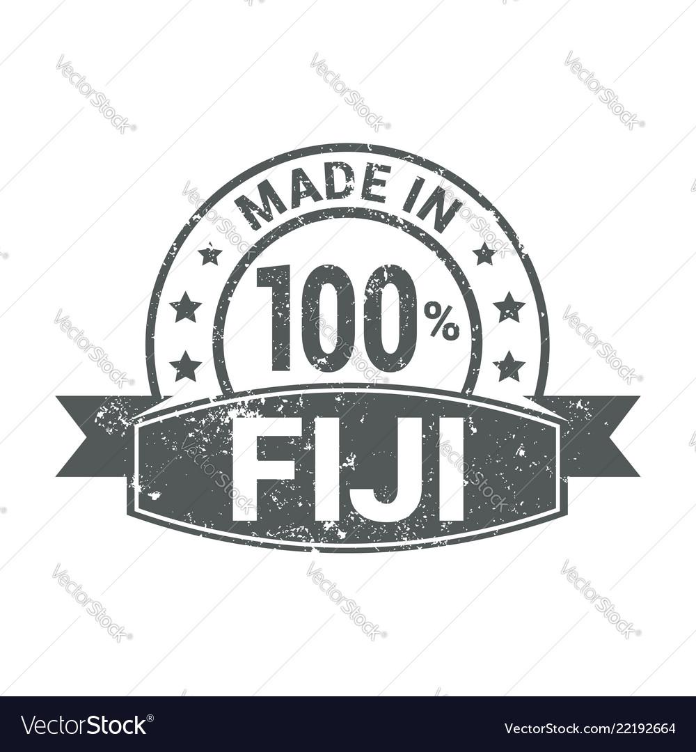 Fiji stamp design
