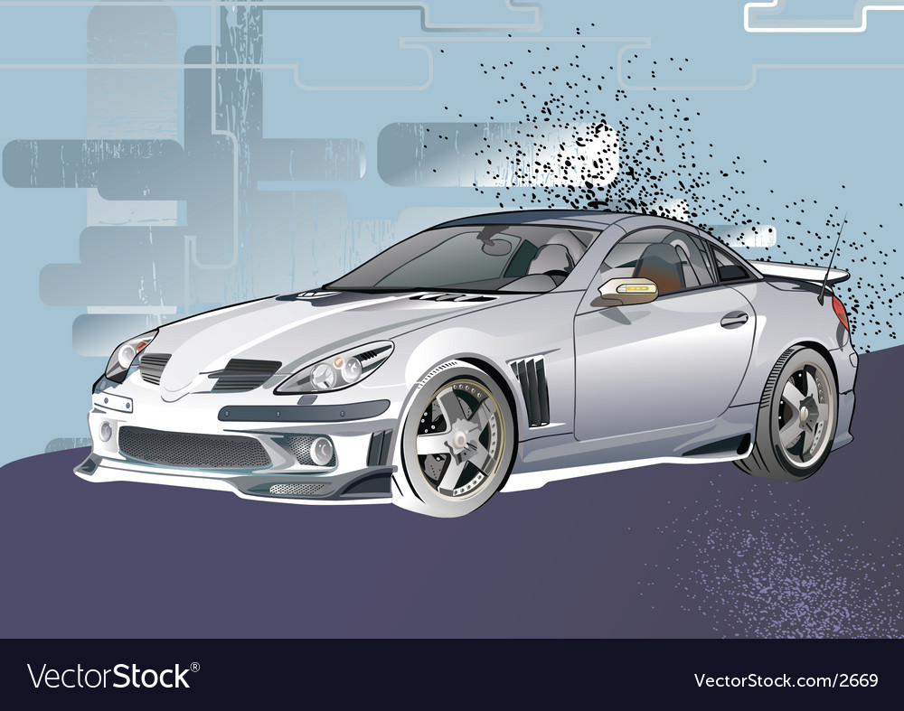 Alto car vector image
