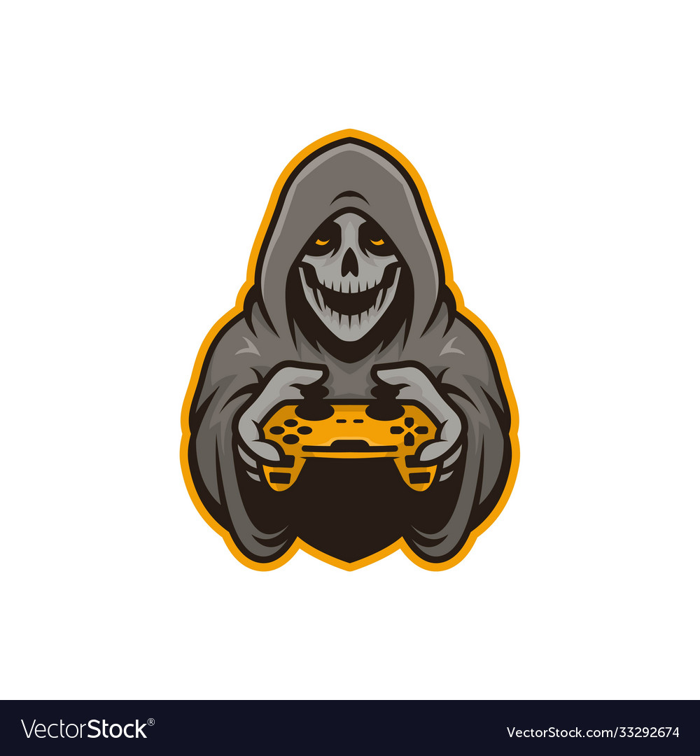 Mascot skull gamers