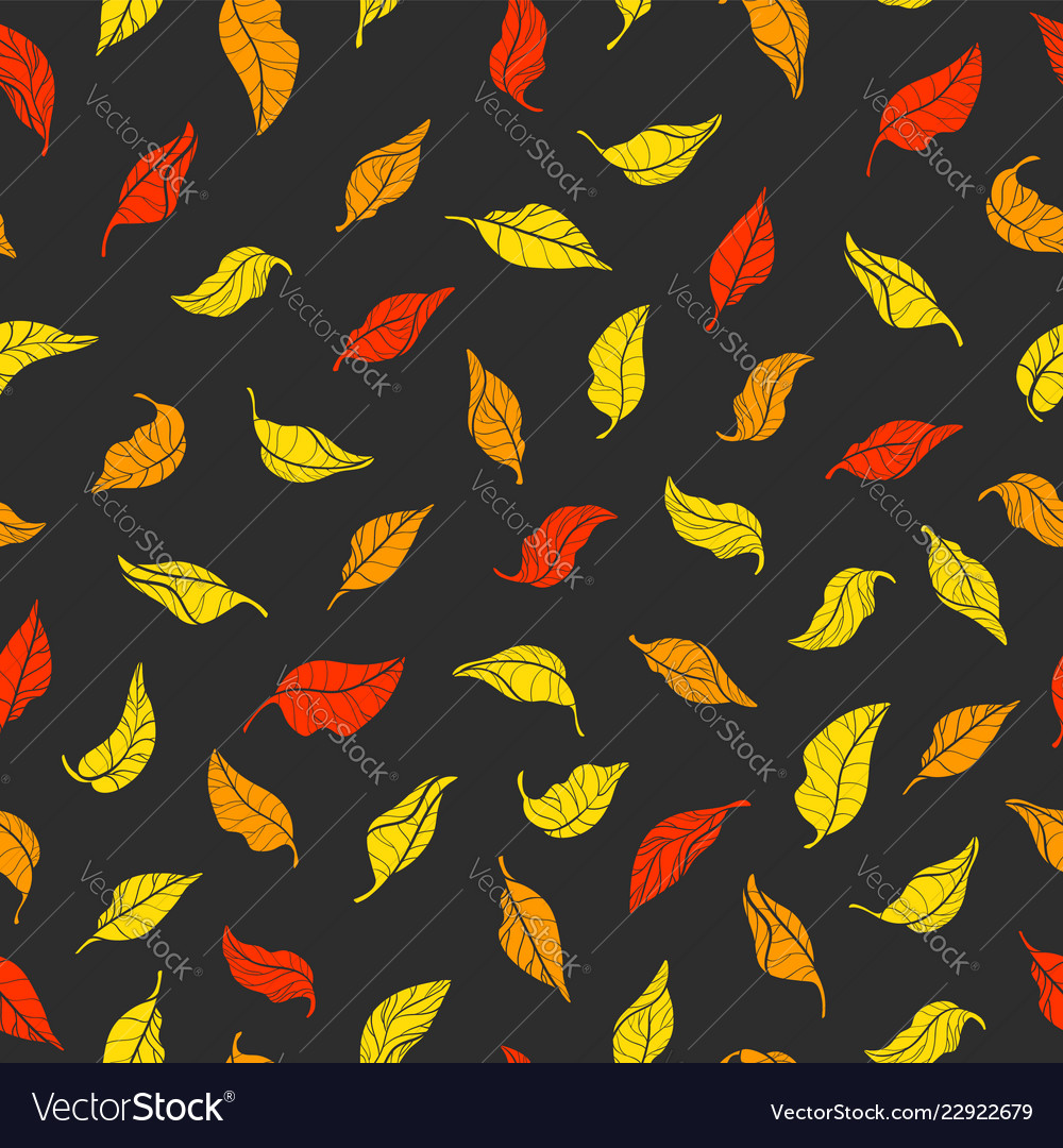 Pattern leaves color