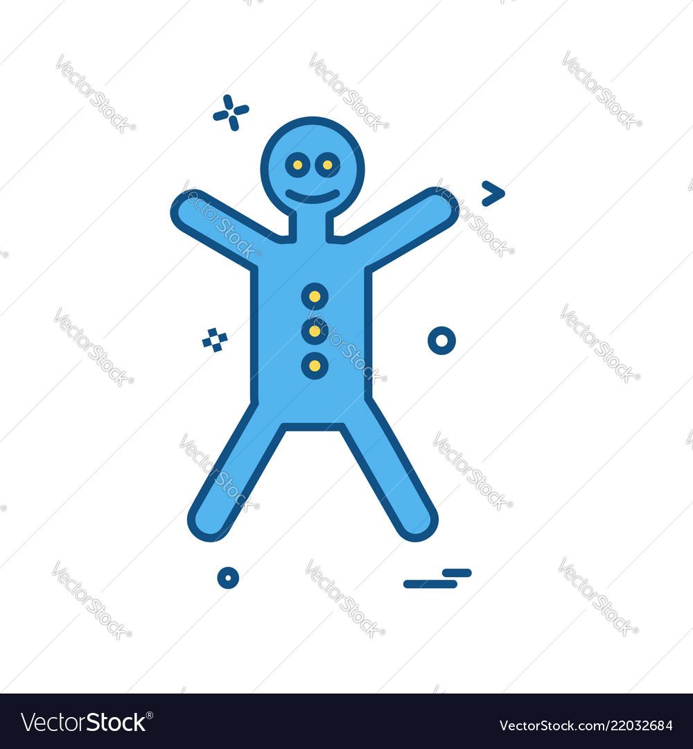 Christmas icon design