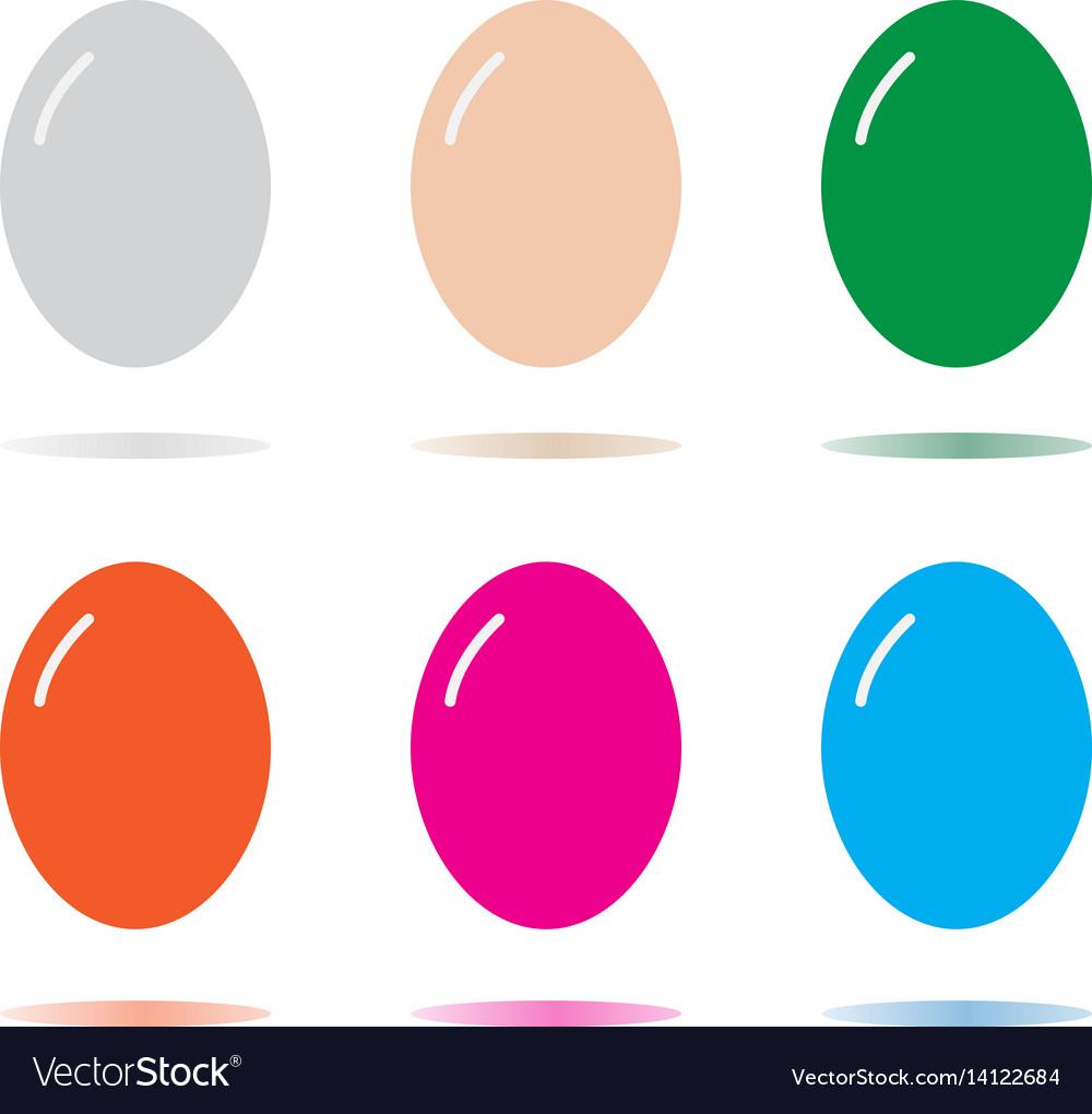 Egg icon isolated on white background egg sign