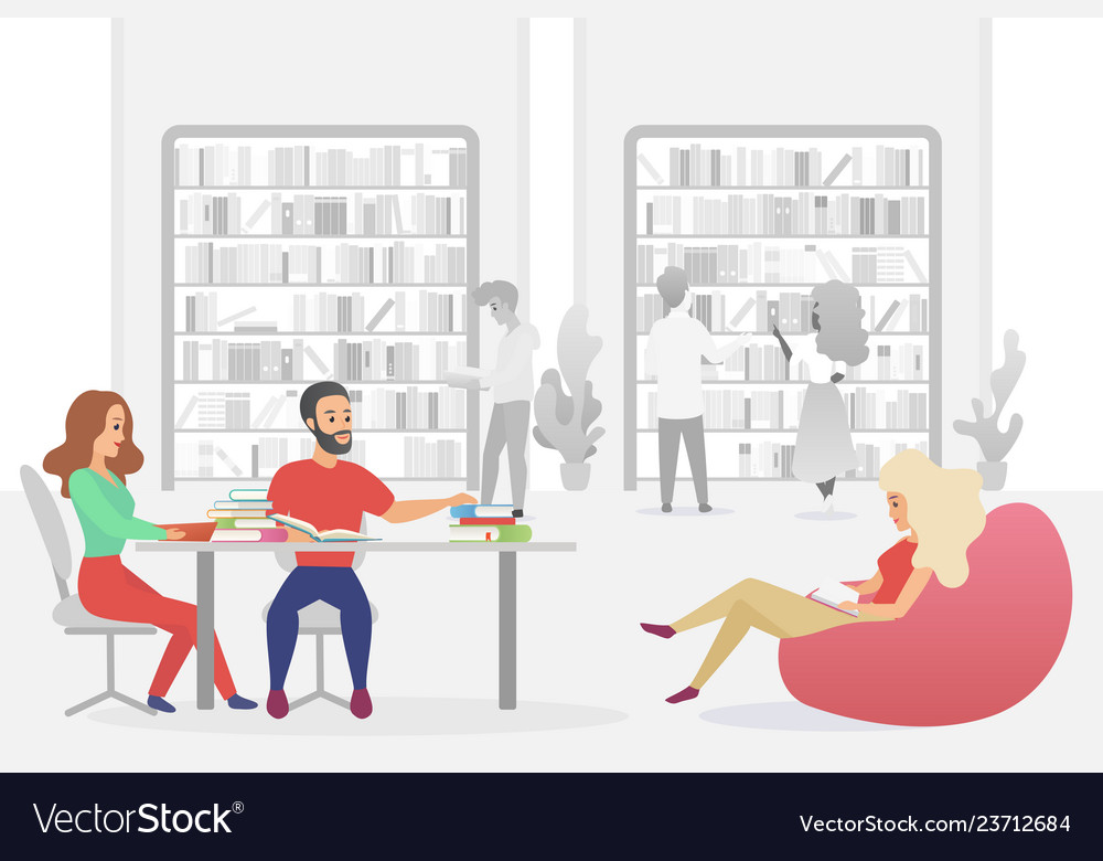 Young people sitting in armchairs and sofa men