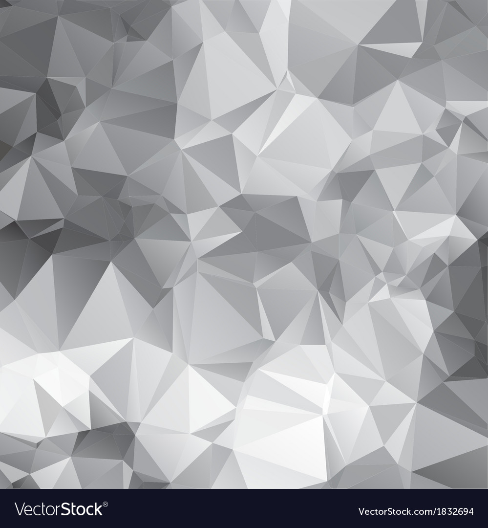 Abstract triangular mosaic pattern