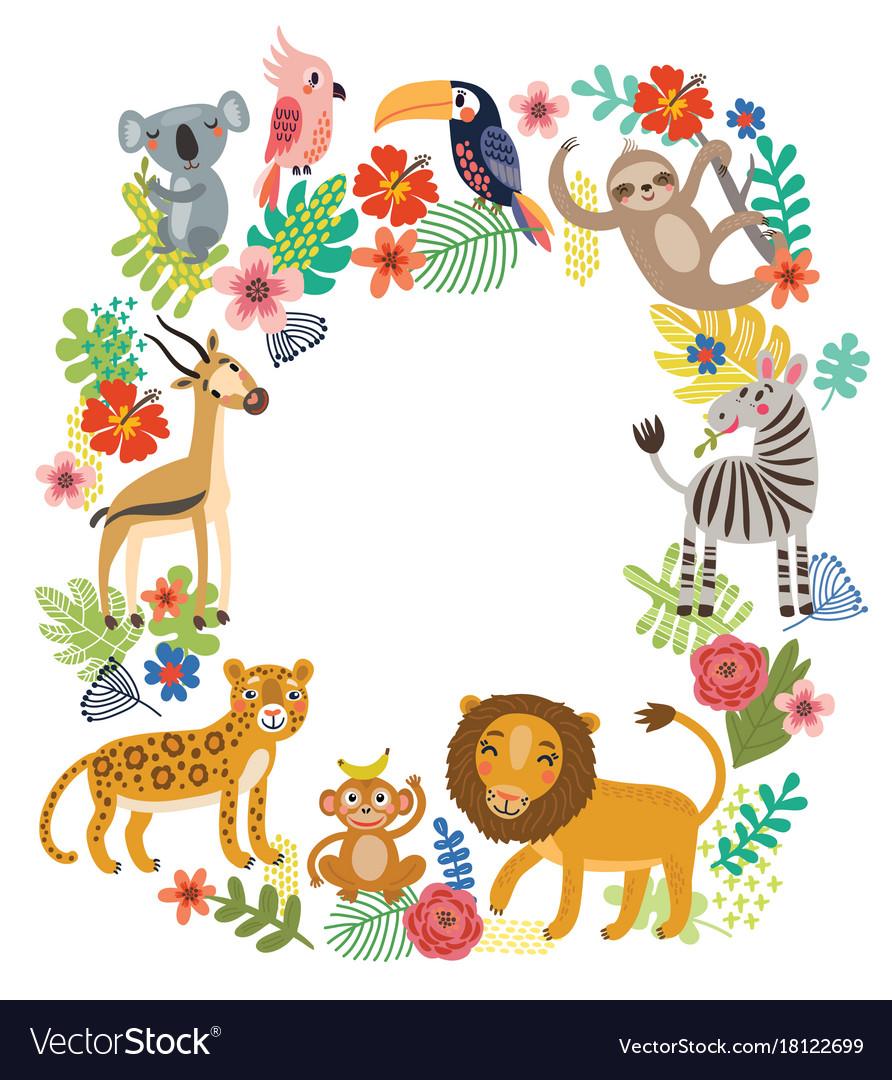 Animals of the jungle