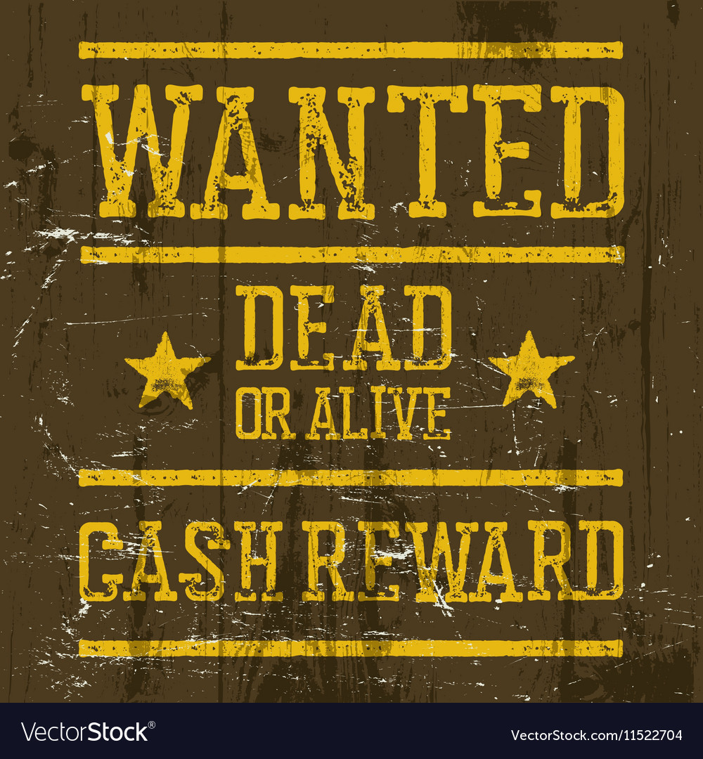 photograph about Printable Wanted Poster titled Sought after poster Wild West Style template Ideal