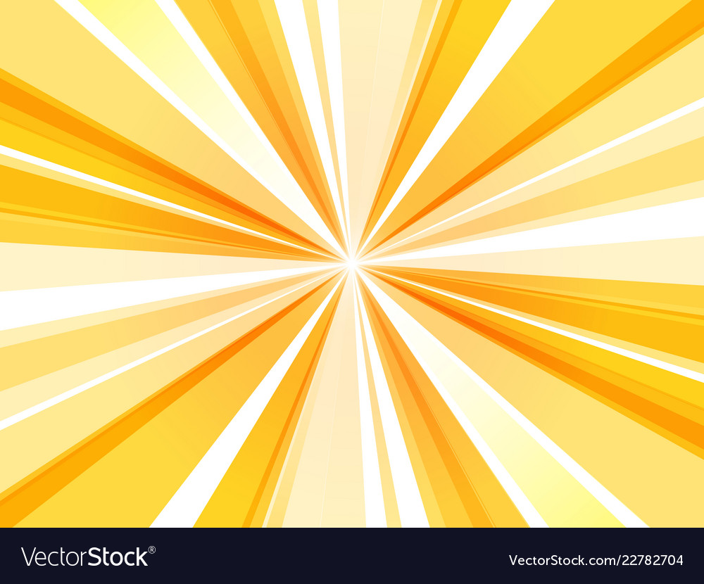 Yellow Abstract Rays Wallpaper
