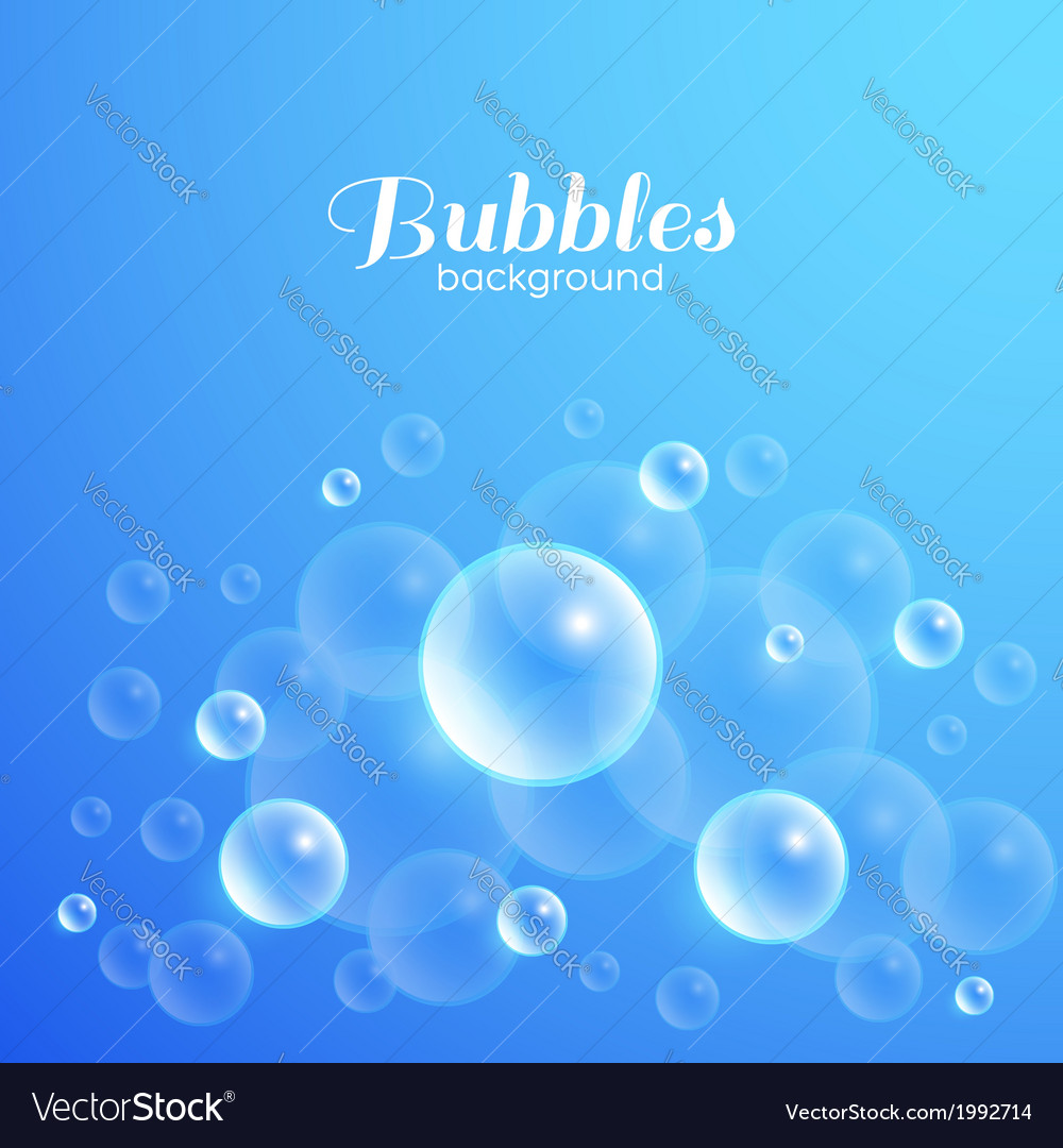 Air Bubbles Background
