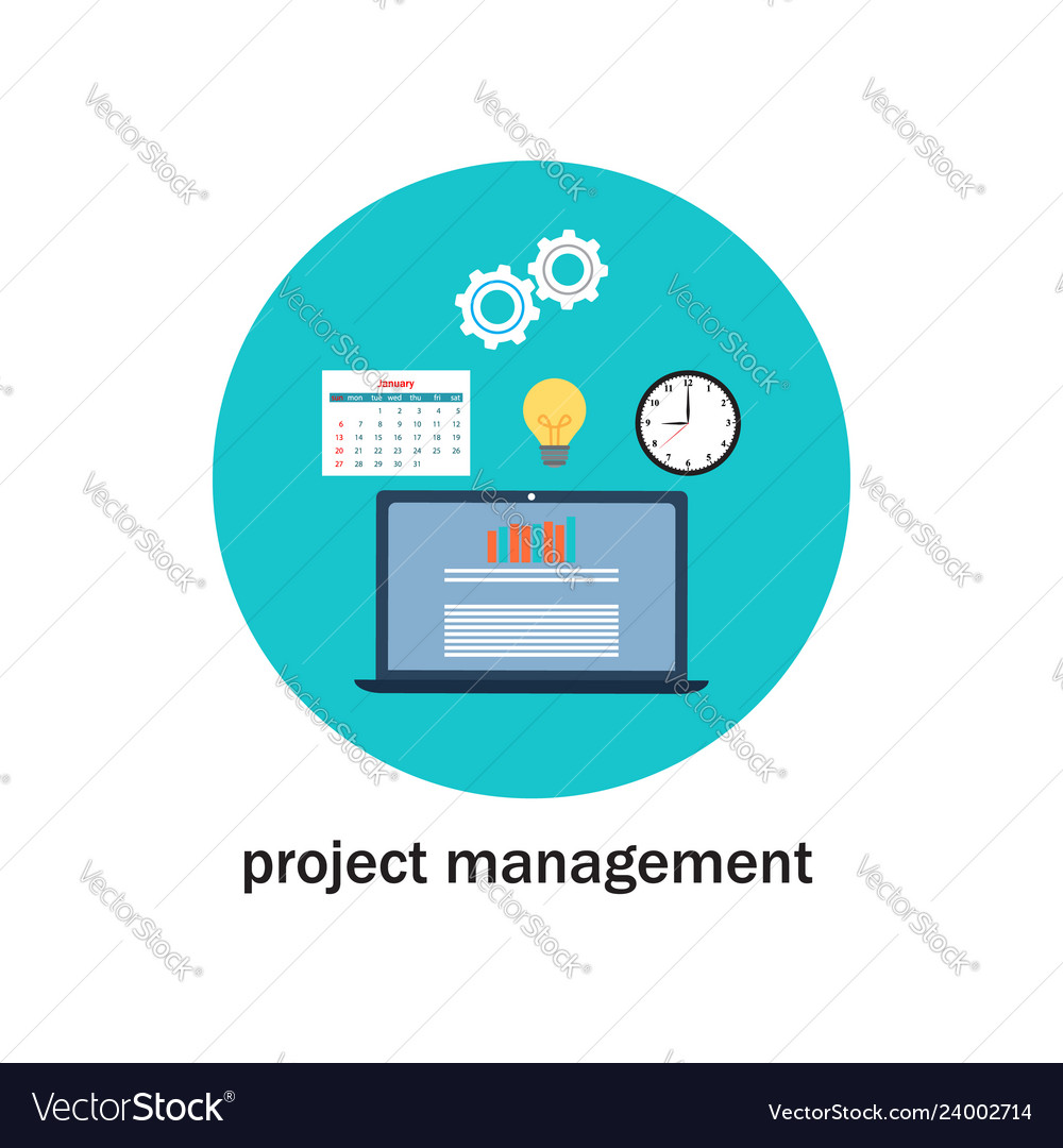 Business project management icon