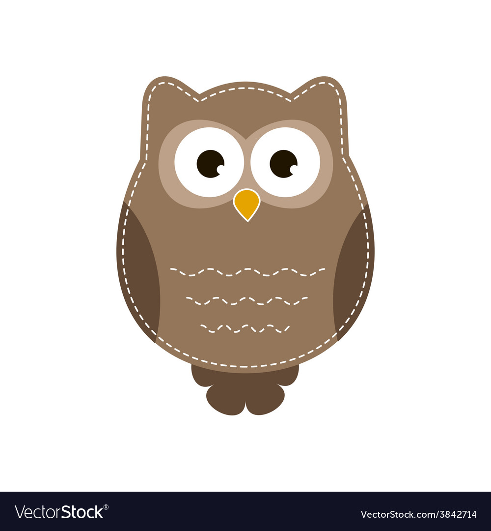 Cartoon owlet