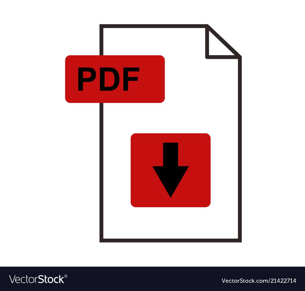 Download icon pdf