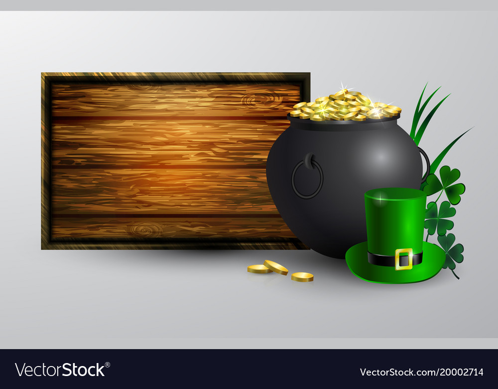 St patrick s day symbol board