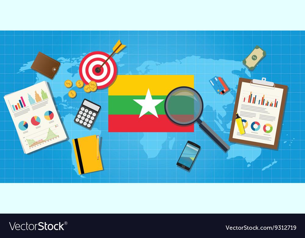 Myanmar economy economic condition country with