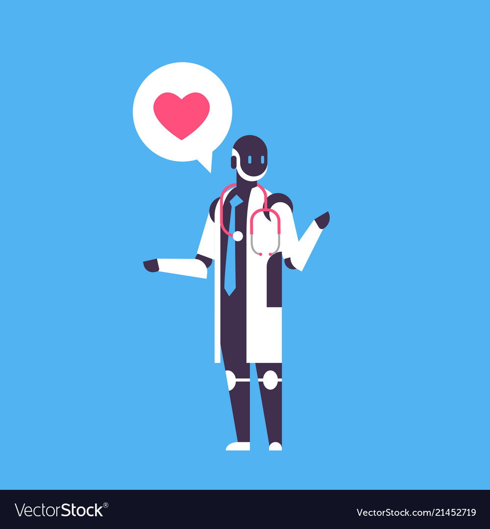 Robot doctor bot helper personal assistant chat