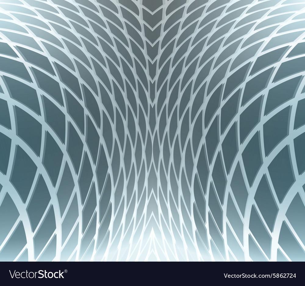 Abstract modern blue