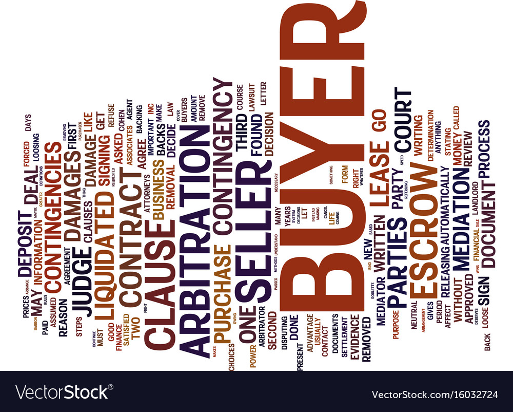 Liquidated damages text background word cloud vector image