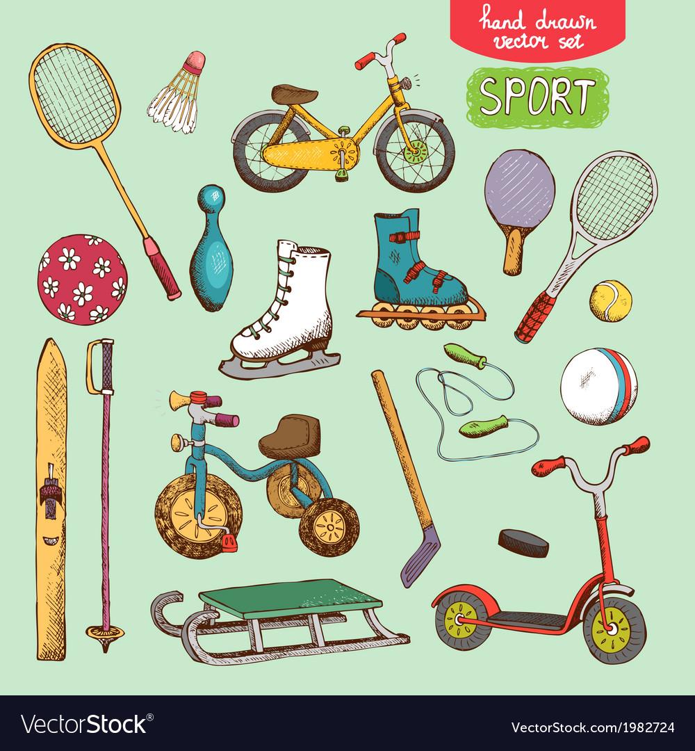 Sport toys set