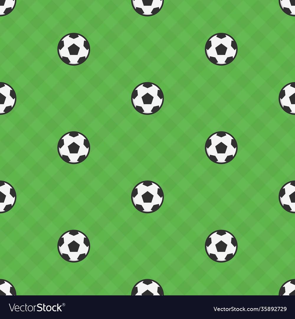 Soccer ball samples pattern