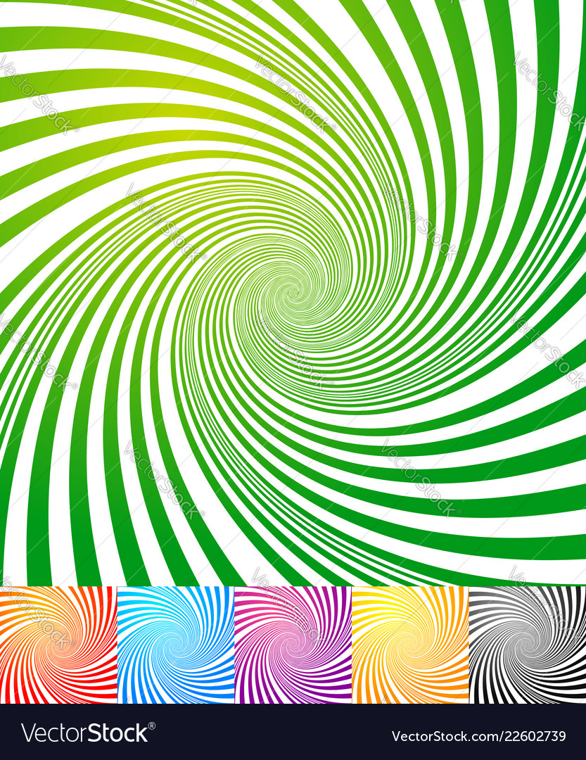 abstract backgrounds with vortex spiral shape vector image